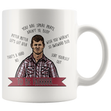 Letterkenny You're Spare Parts Aren't Ya Bud – To Be Fair Mug