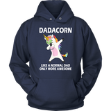 Dadacorn Dabbing Unicorn For Dad Father's Day Gift T-Shirt