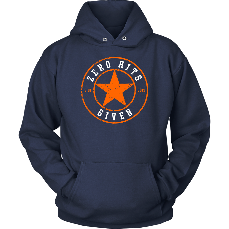 Zero Hits Given Shirt Houston Astros #TakeItBack