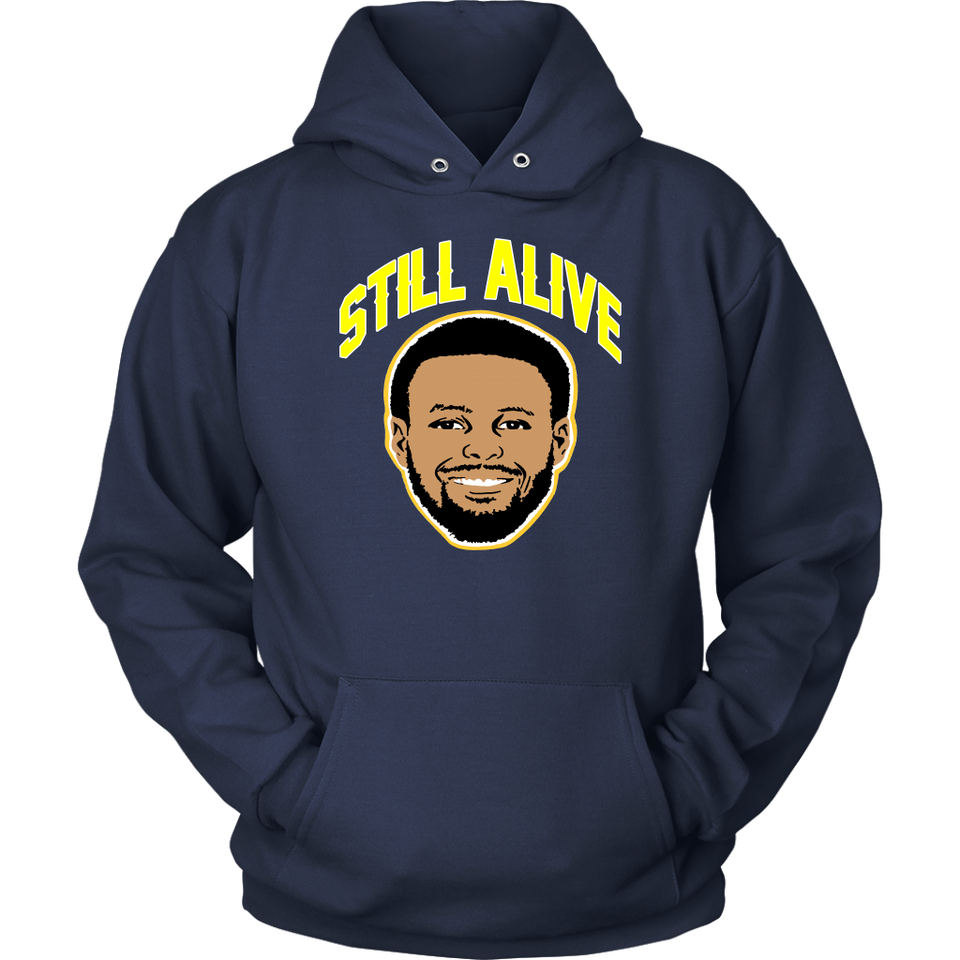STILL ALIVE - Steph Curry Flurry Shirt Golden State Warriors Survived Game 5 of the N.B.A. Finals