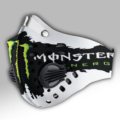 Monster Energy Carbon PM 2,5 Face Mask