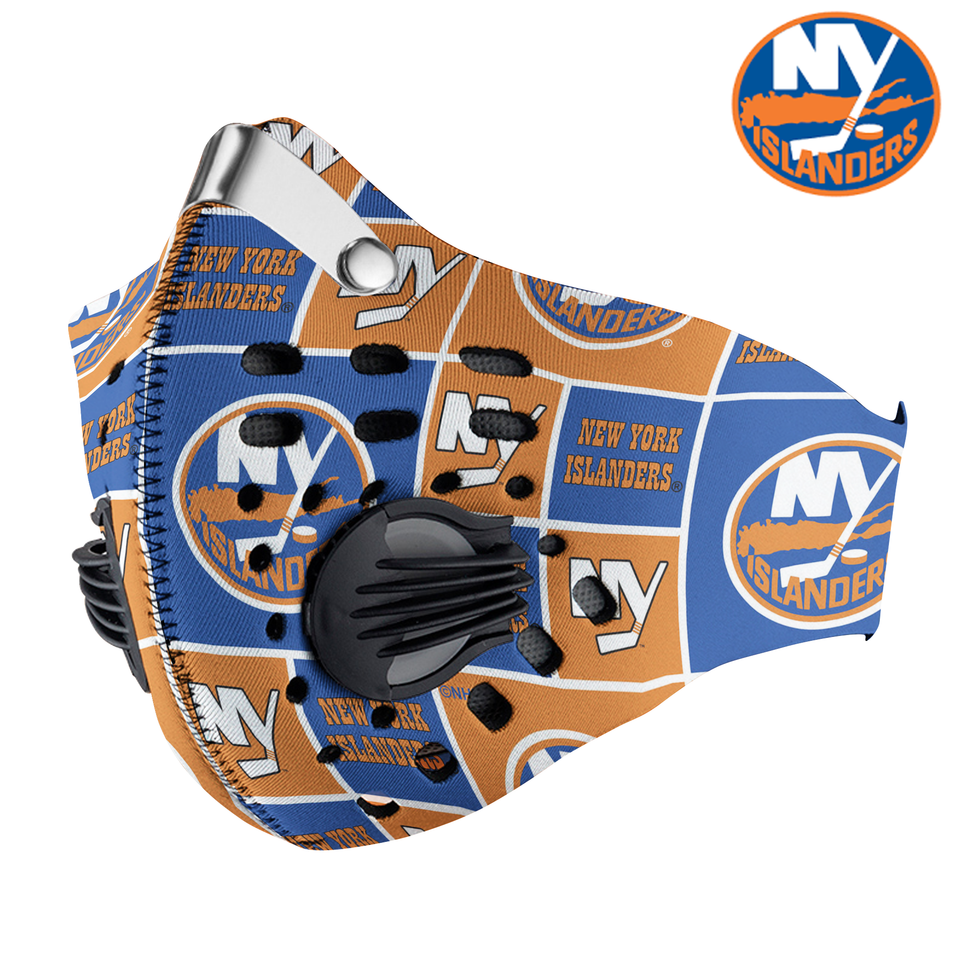 New York Islanders Carbon PM 2,5 Face Mask