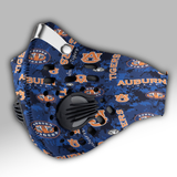 Auburn Tigers football Carbon PM 2,5 Face Mask
