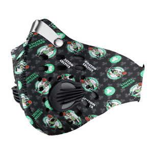 Boston Celtics Carbon PM 2,5 Face Mask