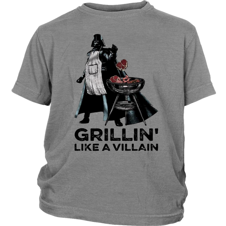STAR WARS DARTH VADER GRILLIN LIKE A VILLAIN SHIRT