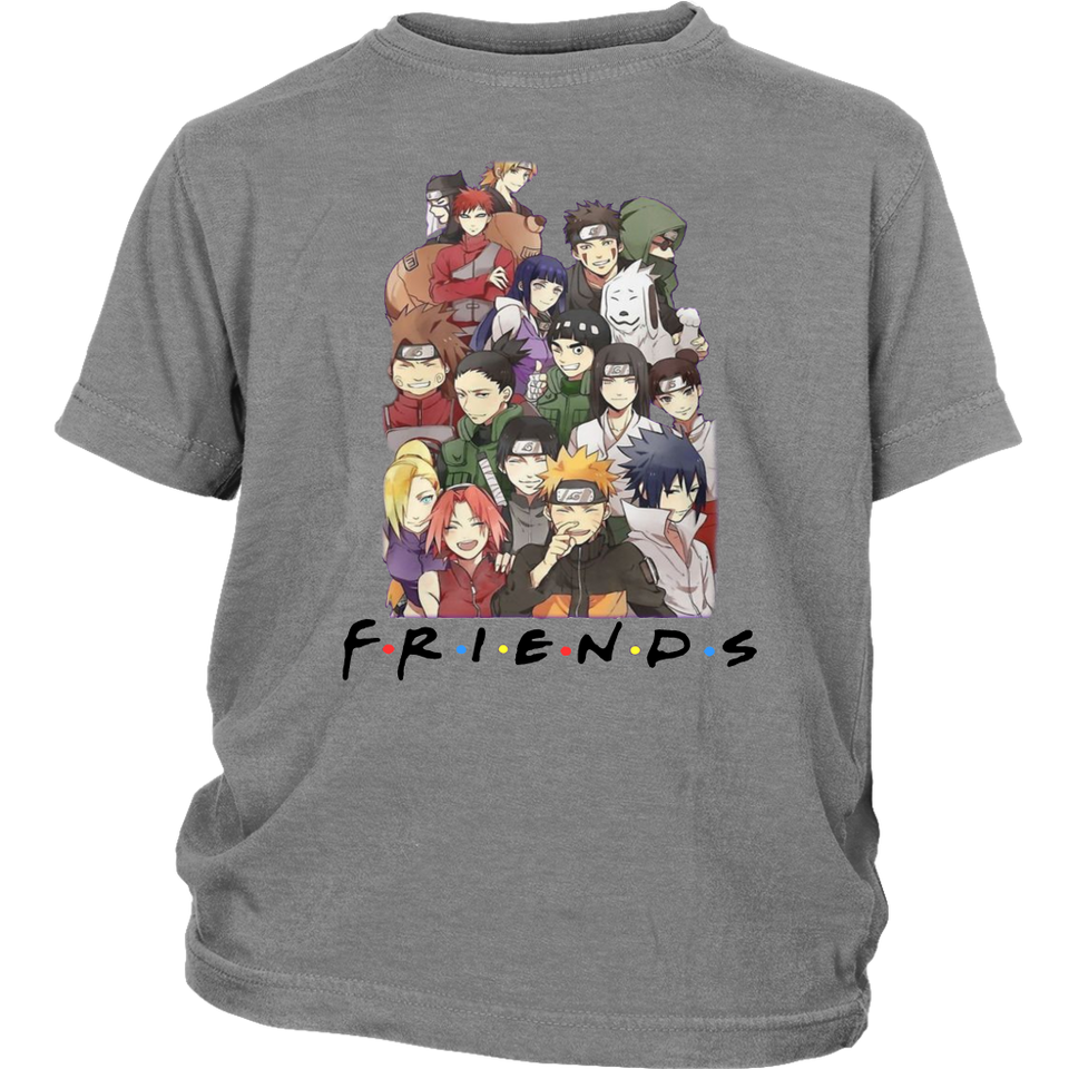 FRIENDS - NARUTO SHIRT FUNNY STRANGER THING