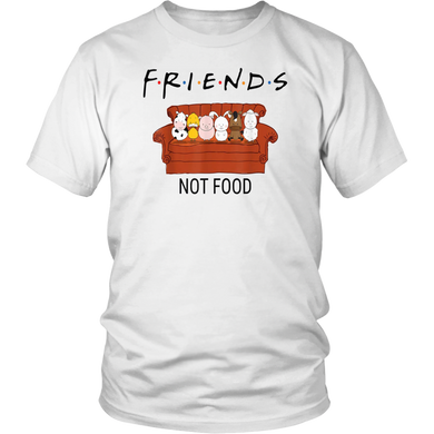 Vegan Shirt Friends Not Food Shirt Vegetarian Shirt Funny Stranger Thing