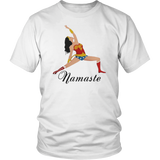 Wonder Woman - Namaste Shirt Funny Yoga