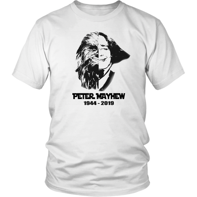 RIP PETER MAYHEW 1944-2019 SHIRT Chewbacca - Star War