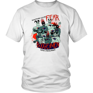 Nightmare Squad Fear The Boogeymen New England Patriots Shirt