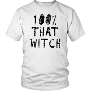 100% That Witch Shirt Funny Halloween