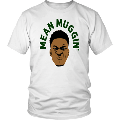 Giannis Antetokounmpo 'Mean Muggin' t-shirt Milwaukee Bucks