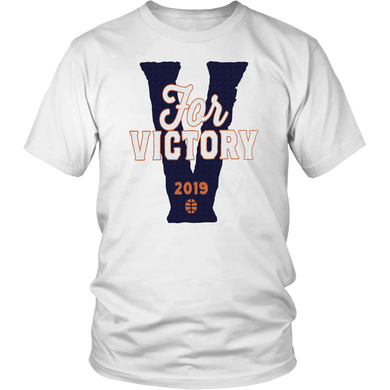 V IS FOR VICTORY SHIRT Virginia Cavaliers - 2019 NCAA Tournament championship