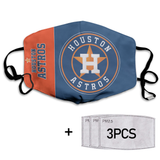 Houston Astros Full printed Face Mask