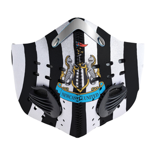 Newcastle United Carbon PM 2,5 Face Mask