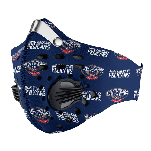 New Orleans Pelicans Carbon PM 2,5 Face Mask