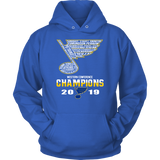 St. Louis Blues Western Conference Champions 2019 Hockey T-shirt Team Roster