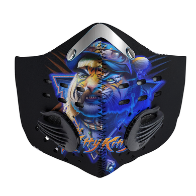 Here Kitty Kitty Carbon PM 2,5 Face Mask Tiger King - Joe Exotic