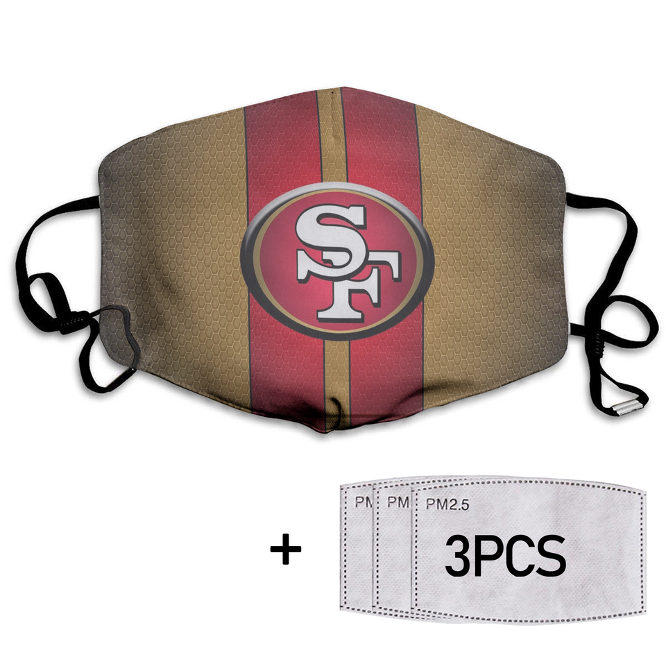 San Fransico 49ers Full printed Face Mask