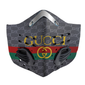 Gucci Carbon PM 2,5 Face Mask