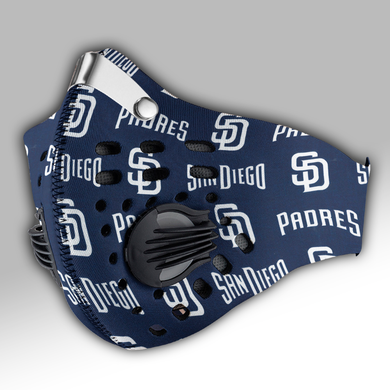 San Diego Padres Carbon PM 2,5 Face Mask