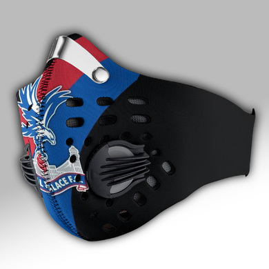 Crystal Palace Carbon PM 2,5 Face Mask