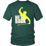 HE'S BACK FIST PUMP SHIRT Tiger Woods won his first major golf championship since 2008 on Sunday