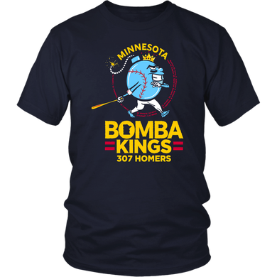 MINNESOTA BOMBA KINGS - 307 HOMERS SHIRT MINNESOTA TWINS