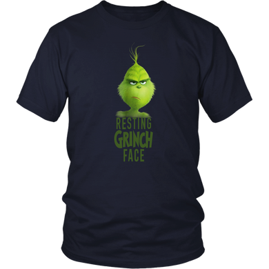 Dr. Seuss The Grinch Resting Grinch Face T-shirt