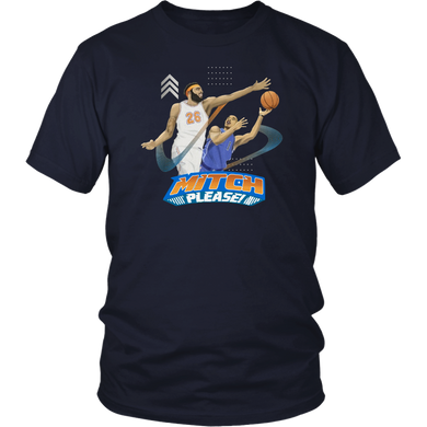 MITCH PLEASE SHIRT Mitchell Robinson - New York Knicks