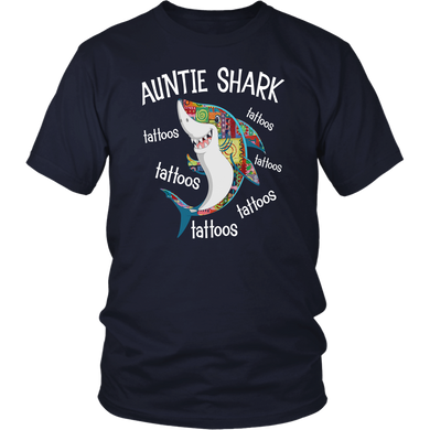 Auntie Shark tattoos tattoos tattoos shirt