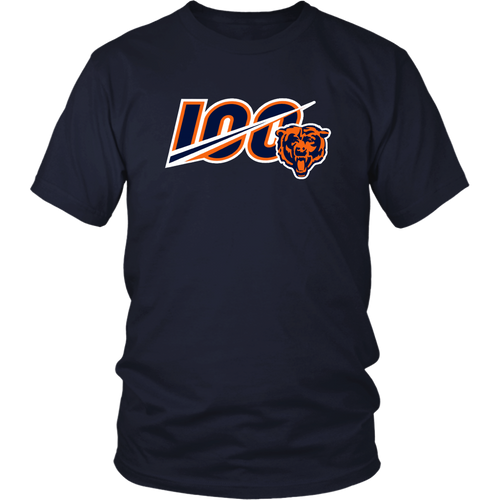 Chicago Bears 100 Shirt