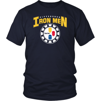 PITTSBURGH IRON MEN SHIRT Pittsburgh Steelers - IRONMAN