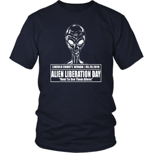 Storm Area 51 See Them Aliens Raid UFO Cant Stop All Of Us T-Shirt