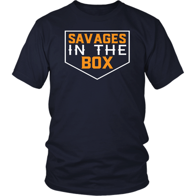 SAVAGES IN THE BOX T SHIRT