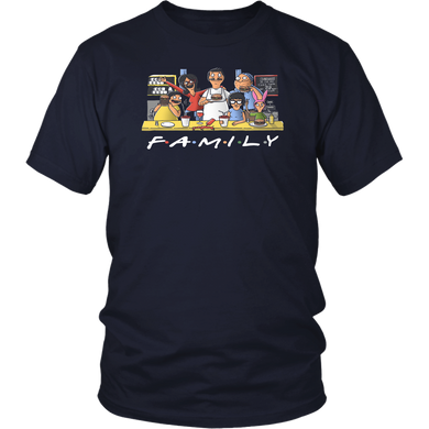 Bobs Burgers Family Friends Shirt