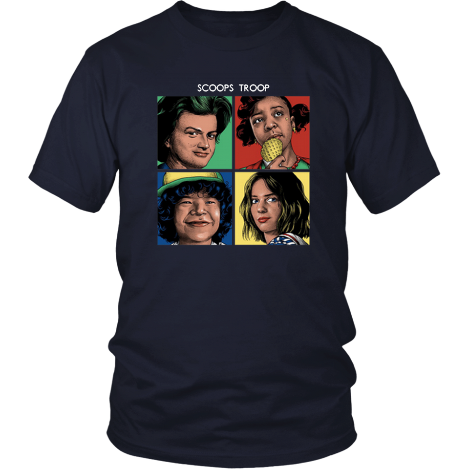 Stranger Things 3 Scoops Troop Shirt