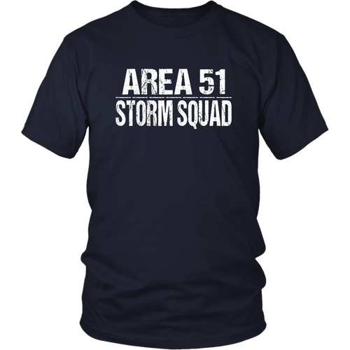 Funny Area 51 Storm Squad T-Shirt