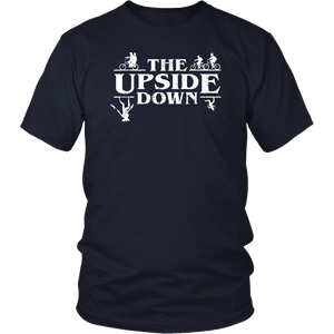 Stranger Things Style Pop Culture Things Upside Down World T-Shirt