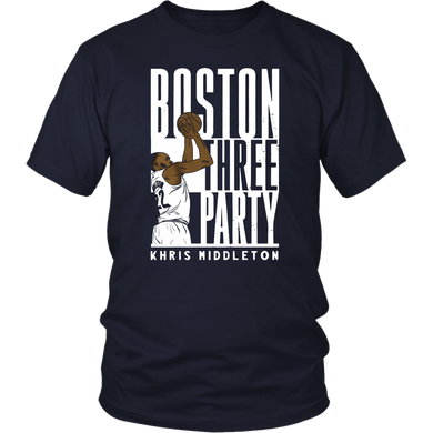 Boston Three Party Khris Middleton Shirt Milwaukee Bucks