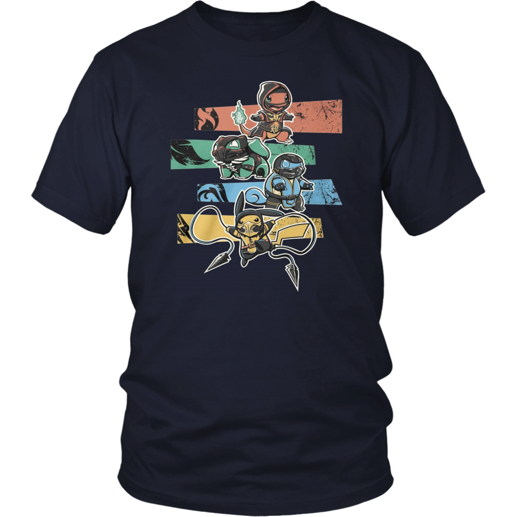 Pokemon mortal kombat shirt