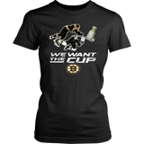 We Want The Cup Shirt Torey Krug - Boston Bruins 2019 Stanley Cup Final T-Shirt