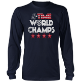 USWNT is World Cup champs Shirt - FOUR-TIME WORLD CHAMPS Shirt
