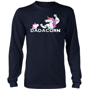Dadacorn Unicorn Dad Gift T-Shirt Funny Dadacorn Unicorn Dad Shirt