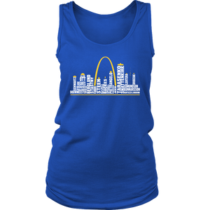 ST LOUIS BLUES CHAMPIONS STANLEY FINAL 2019 - TEAM ROSTER SHIRT