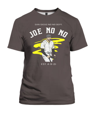 JOE NO NO SHIRT Joe Musgrove San Diego Padres
