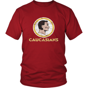 Caucasians Shirt Washington  Redskins T Shirts