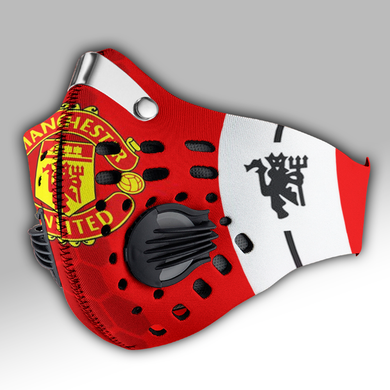 Manchester United Carbon PM 2,5 Face Mask
