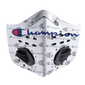 The Champion Logo PM 2,5 Face Mask