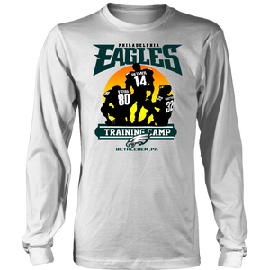 PHILADELPHIA EAGLES TRAINING CAMP - BETHLEHEM - PA SHIRT FRYAR - DETMER - WATTER - Rodney Mcleod